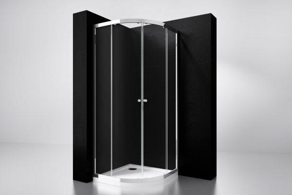 Best Design Kwartronde douchecabine 80x80 cm
