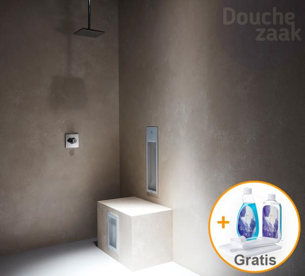Sunshower Duo inbouw met gratis cleaning set